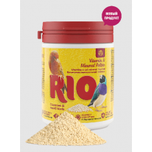 RIO Витаминно-минеральные гранулы для канареек, экзотов и других мелких птиц, 120 г