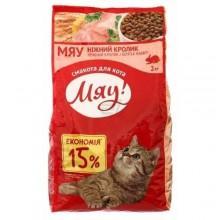 """""""Мяу"""" сухой корм для кошек с кроликом"""