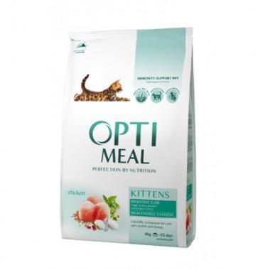 """Optimeal"" 4 кг сухой корм для котят с курицей"