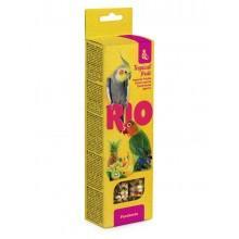 RIO Палочки для средних попугаев с тропическими фруктами, 2х75г