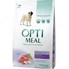 """""""Optimeal"""" сухой корм для собак малых пород c уткой"""