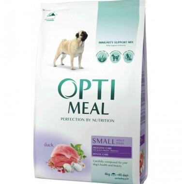 """""""Optimeal"""" 4 кг сухой корм для собак малых пород c уткой"""