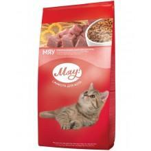 """""""Мяу"""" сухой корм для взрослых кошек индейка и садовая трава 11 кг"""