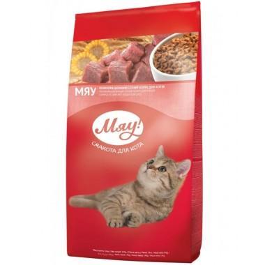 """""""Мяу"""" 11кг сухой корм для взрослых кошек индейка и садовая трава"""
