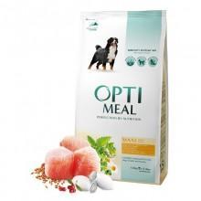 """""""Optimeal"""" защита иммунитета сухой корм для собак крупных пород с курицей"""
