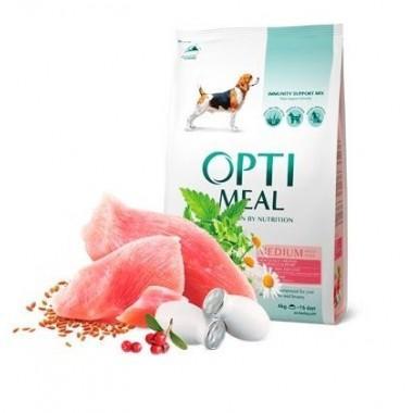 """""""Optimeal"""" 4 кг сухой корм для собак средних пород с индейкой"""