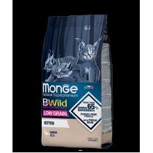Monge сухой корм для котят с гусем (низкозерновой)