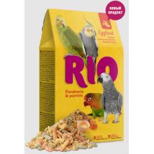 RIO Яичный корм для средних и крупных попугаев, 250 г