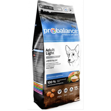 ProBalance Dog Immuno Adult Light, 15 кг