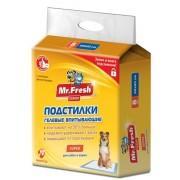 Mr.Fresh Expert Super Подстилки для собак, 60х60 (8 шт.)