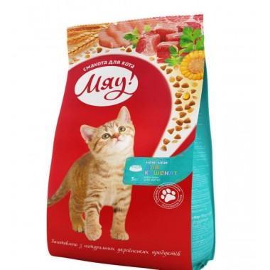 """""""Мяу"""" 11 кг сухой корм для котят"""