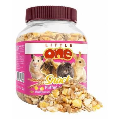 Little One Воздушные зерна, Лакомство для всех видов грызунов, 100 г