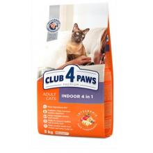 Club 4 Paws Премиум сухой корм для взрослых кошек, живущих в помещении
