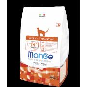 Monge сухой корм для пожилых кошек