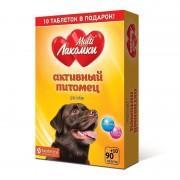 Добавка для собак МУЛЬТИЛАКОМКИ L109 Активный питомец 100 штук