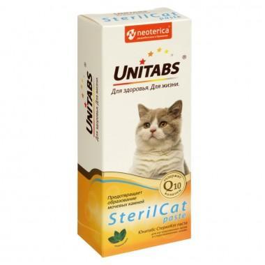 Добавка для кошек UNITABS U306 UT СтерилКэт Паста 120 мл