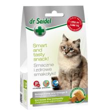 Dr. Seidel Snacks. Лакомство для кошек - для повышения иммунитета 50г