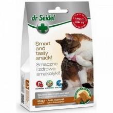Dr. Seidel Snacks. Лакомство для кошек - для вывода шерсти 50г