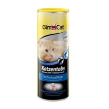 Gimcat Таблетки для кошек с рыбой, 425 гр