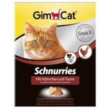 """Gimcat Витаминные """"сердечки"""" с таурином и курицей, 420 гр"""