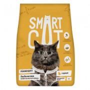 Корм Smart Cat для взрослых кошек, с курицей