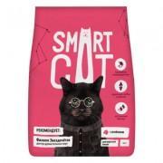 Корм Smart Cat для взрослых кошек, с ягнёнком