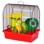 """Клетка для грызунов """"Бунгало 2 Люкс"""" (335x230x365)"""