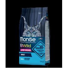 Monge сухой корм с анчоусами для взрослых кошек