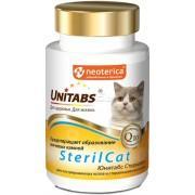 Добавка для кошек U302 UT SterilCat UNITABS с Q10 120 штук