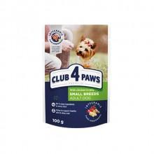Club 4 Paws Премиум консервированный корм для собак с курицей в желе (20+4) 2,4 кг