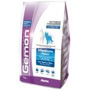 Gemon сухой корм для взрослых собак средних пород с тунцом и рисом