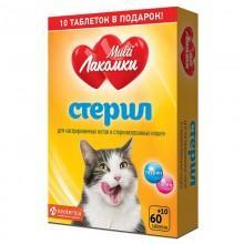 Добавка для стерилизованных кошек МУЛЬТИЛАКОМКИ L103 70 штук