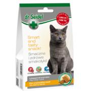 Dr. Seidel Snacks. Лакомство для кошек - для красивой шерсти 50г