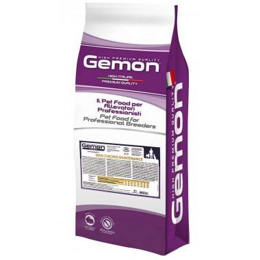 Gemon сухой корм для взрослых собак крупных пород с курицей