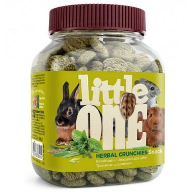 Little One Травяные подушечки, Лакомство для всех видов грызунов, 100 г