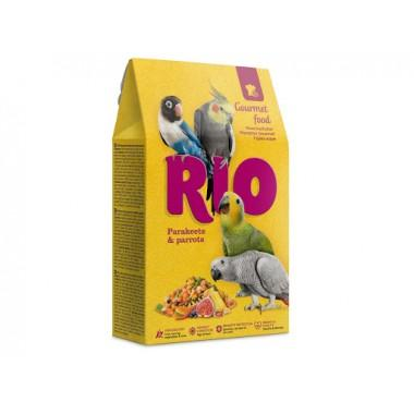 RIO Гурмэ корм для средних и крупных попугаев, 250 г