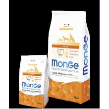 Monge сухой корм СПЕЦИАЛЬНЫЙ для взрослых собак всех пород с уткой, рисом и картофелем