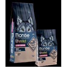 Monge сухой корм с мясом гуся для взрослых собак всех пород