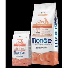 Monge сухой корм СПЕЦИАЛЬНЫЙ для взрослых собак всех пород с лососем и рисом