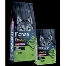 Monge сухой корм с мясом дикого кабана для взрослых собак всех пород