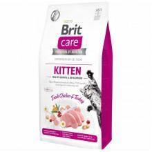 Корм Брит Care Cat GF Kitten Healthy Growth & Development для котят, беременных и кормящих кошек