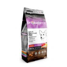 ProBalance Dog Gourmet Diet Beef & Lamb, 15 кг