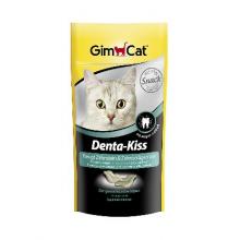 Gimcat DENTA-KISS Лакомство для кошек, 40 гр