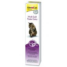 Gimcat паста для кошек  Malt-Soft-Extra с эффектом выведения шерсти,100 гр