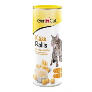 Gimcat Сырные шарики Cheezies для кошек, 425 гр