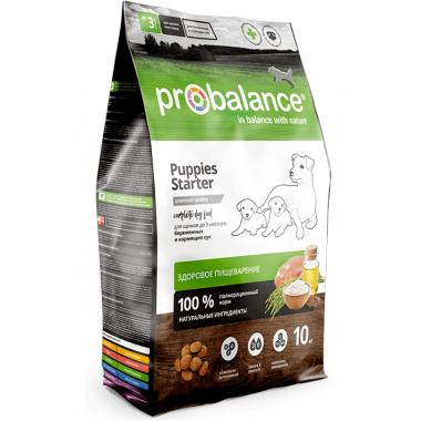 ProBalance Starter Корм для щенков до 3х месяцев и собак в период беременности и лактации, 10 кг
