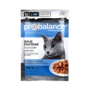ProBalance Консервированный корм Sterilized Cat (пауч)