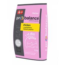 ProBalance 1 st Diet корм сухой для котят с цыплёнком
