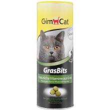 """Gimcat Лакомство для кошек  """"Грасбитс"""" с травой, 425 гр"""