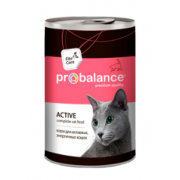 ProBalance Консервированный корм Active Cat, 415 гр